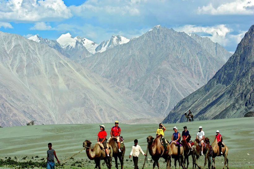 Nubra Valley Tourists