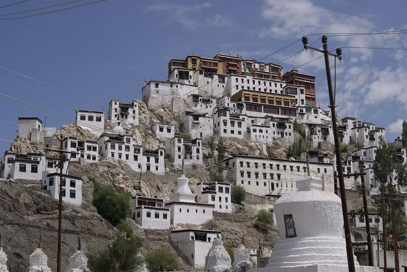 Thikse_Monastery_Front