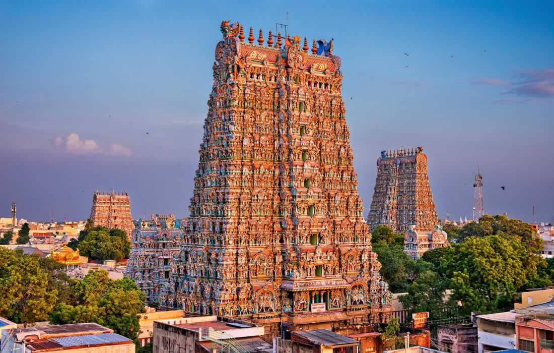 Minakshi Temple Tamil Nadu